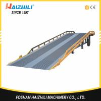 10 ton heavy duty truck container mobile loading ramp with cheap price