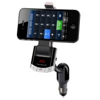 China Bluetooth FM Transmitter Car Kit phone Holder on sale