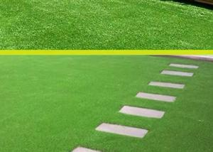 China Easy Installation Soft Fake Grass Residential Artificial Turf on sale