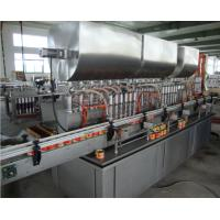 China Automatic SS Meat Paste Tin Can Filling Machine / Bottle Filling Line Custom on sale