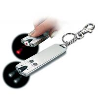 China Colored Non phthalate 2 pcs CR1220 heat sealing mini led torch keychain on sale