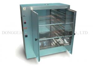 China Double Door Design Hot Air Circulation Drying Oven 380V 50Hz Rated Voltage on sale