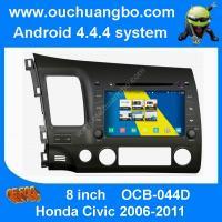 Ouchuangbo Honda Civic 2006-2011 S160 car DVD gps navigaton WIFI CD USB android 4.4 OS