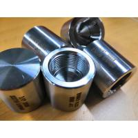 China Stainless pipe fittings threaded caps on sale