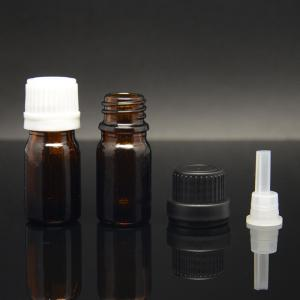 China 5ml empty essential oil bottle with tamper evident pipettee on sale