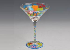 China Martine Glass Cocktail Cup Stemware Wine Glasses for martini , marharita , brandy on sale