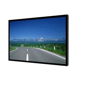 China Industrial Grade Wall Mount Touch Screen Monitor 31 Inch High Definition Metal Border on sale