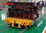 Steel Element Electric Battery Transfer Cart 20 M / Min Speed 1435mm Rail Gauge