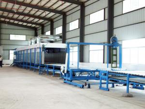 China Full-Automatic Horizontal Continuous Polyurethane Foam Injection Machine With American Vicking Pump on sale
