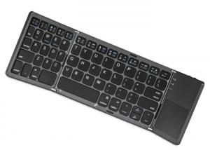 China Portable Bluetooth 3.0 Industrial Wireless Keyboard With Brazilian / Portuguese on sale