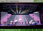 Full Color P16mm LED Curtain Screen Indoor Slim Aluminum LED Screen Panel