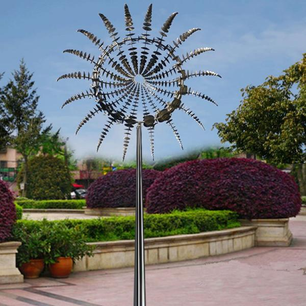 Metal Art Famous Modern Outdoor Garden Stainless Steel 2 M Diameter Wind Sculpture For Sale Cast Iron Decor Manufacturer From China 109143599
