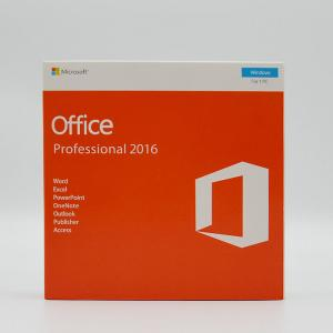 China Microsoft Office 2016 Professional , Ms Office 2016 Pro 1 Key For One PC on sale