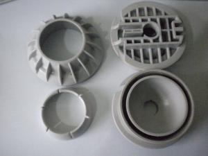 China PVC  TPE  PBT Injection Plastic Parts / Precision Machined Components on sale