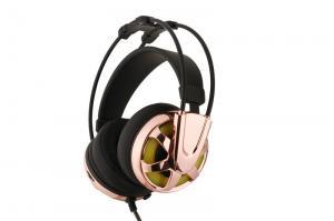 China Os auriculares do jogo do fones de ouvido 7.1CH do jogo G2 com construção de aço & efeito da luz verde prenderam o fones de ouvido do jogo dos auriculares on sale