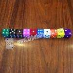 China Gamble Device Casino Magic Dice / Telecontrol Dice With Earpiece To Tell Result wholesale