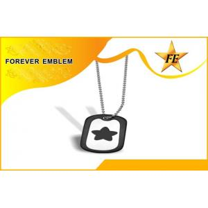 China Staiinless Steel Custom Personalised Dog Tags and Fashion Metal Army ID Dog Tag on sale
