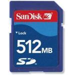 Карты памяти СД быстрого хода цифровых фотокамер портативные 512М