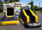 18x12 kids inflatable Batcave disco bouncy castle with slide from China manufacturer