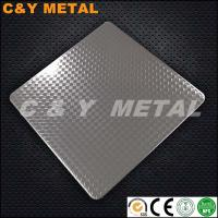 China Decorative 201 304 316 Embossing Polish Stainless Steel Sheets- Rhombus CY-181 on sale