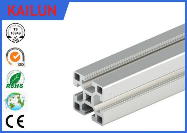 Aluminum T - Slotted Framing System 40 X 40 Mm , 2 Mm Wall Thick ...