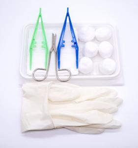 China Commercial Disposable Sterile Dressing Set / Safe Surgical Dressing Kit on sale