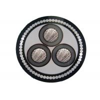 High quality 3 core xlpe aluminum conductor 11kv armoured power cable