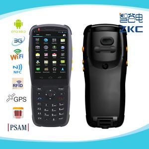 China 3.5 inch android handheld barcode scanner rugged pda with 3g wifi nfc/rfid on sale