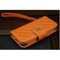 OEM / ODM New LV Design Leather Material Case Cover For Apple iPhone 5
