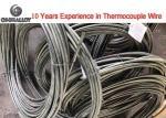 Thermocouple Wire Type K J Coiled Nichrome Alumel Wire Rod 1000℃ Class I Accuracy