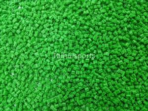 China Green Rubber Synthetic Turf Infill For Outdoor , Artificial Grass Infill on sale
