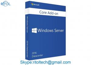 China Full Version Microsoft Windows Server 2016 OEM DVD 64 Bit Original Activation Computer Build on sale