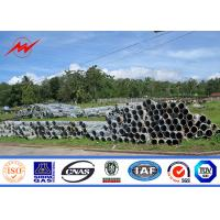 China 14m 1000Dan Utility Power Poles For African Distribution Line on sale