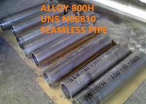 China 800H / UNS N08810 Heat Resistant Alloys Excellent Creep Rupture Strength on sale