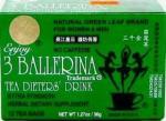 3 продукта чая балерины Горяч-продавая. Здоровая зеленая еда