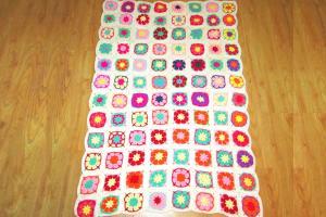China Wholesale China Cotton Blanket Crochet Baby Blanket Patterns 100% Handmade on sale