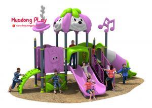 China Disneyland Series Outdoor Playground Slides , Plastic Children's Outdoor Playground Equipment on sale