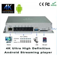 ARM Cortex A9 Quad Core 4K Android Streaming HD Codec Media Player For Airports