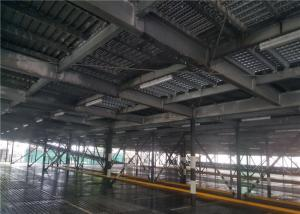 China Promotional Precast Car Park Shade Structures Steel Frame Rapid Construction on sale