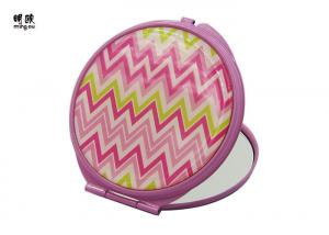 China custom pocket cosmetic mirrors for Party , One Side 2x Mirror on sale