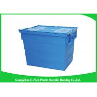 China 600*400*462cm Heavy Duty Moving Turnover Crate Wholesale Plastic Storage Containers on sale