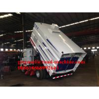 Light Road Sweeper Truck With Stainless Steel 5m³ GarbageTank 1100L Water Box For Airport Airway
