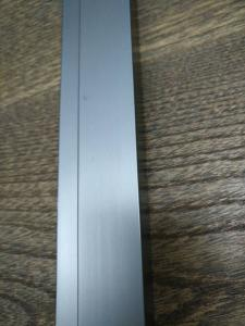 China Darkness Nickel Coating Gray Anodized Aluminium Industrial Profile 6063-T5 / 6005-T6 on sale
