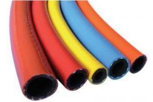 China High Pressure Gas Pneumatic Air Tubing PVC Synthetic Fiber Reinforced Hose 1 Mpa - 2Mpa on sale