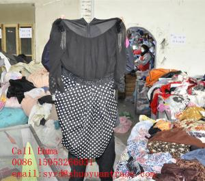China 2014 second hand woman clothing manufacturer on sale
