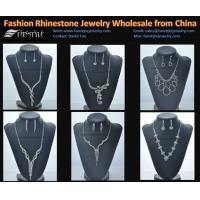 China Fashion Crystal Jewelry Sets Wholesale from China on sale