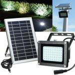Eco - Friendly Outdoor Solar Street Light / Solar Flood Light Low Light Decay