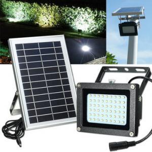 China Eco - Friendly Outdoor Solar Street Light / Solar Flood Light Low Light Decay on sale