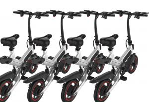 China High Performance Electric Mini Bike , Intelligent Leisure Foldable Electric Bicycle on sale