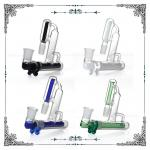 Glass Ashcatchers 18mm Recycler Ash Catcher For Smoking Bongs Mix Color